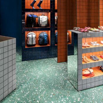 Huguet Customised 50x50x2cm terrazzo tiles