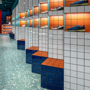 Huguet Retail Customised 50x50x2cm terrazzo tiles