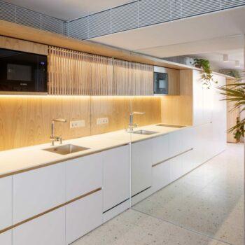 Huguet 50x50x2cm terrazzo tiles kitchen