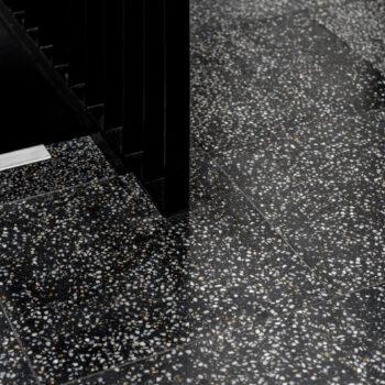 Customized terrazzo tiles by Huguet
